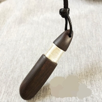 Free Shipping Sandalwood Handmade Silver Wire Pendant Hot Popular Necklace