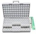 Набор резисторов AideTek SMD SMT1206 1%  набор резисторов E96 ассорти из 14400 шт.  коробка для хранения пластиковых деталей  lablesR12E24100