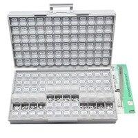 AideTek SMD SMT1206 1% Резистор Комплект E96 Ассорти 14400 шт. BOX ALL10Mresistor коробка для хранения пластиковые боковая часть lablesR12E24100