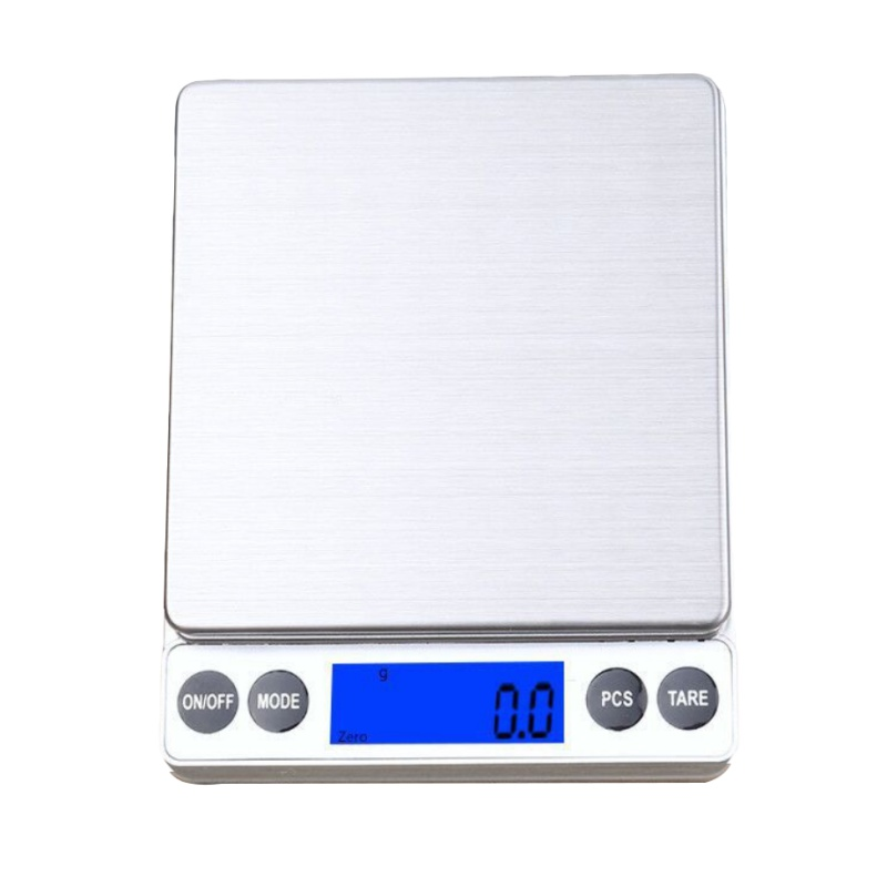 Digital Multi-function Food Kitchen Scale With LCD Display 1Kg/0.1g 2Kg/0.1g Portable Electronic Scales Precision Jewelry Scale