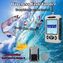 Глубже эхолот для рыбалки Lucky FFW718 Беспроводной findfish Sonar для рыбалки приманку сигнализации Sonar Сенсор Портативный рыболокаторы