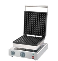 free shipping Commercial use big plate Waffle making machine 110v 220v waffle baker|Food Processor Parts|Home Appliances -