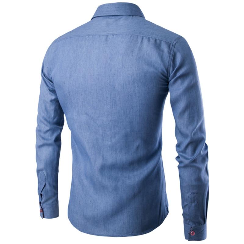 Men Shirt Pocket Fight Leather 5