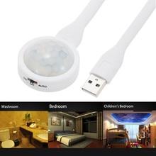 Jiguoor Portable DC 5V USB LED Human PIR motion Sensor Warm white