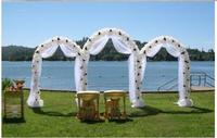 Бесплатная доставка, свадьба Декоративные, гладить Арки. сада, high 240cm, вечеринки, Арки цветок.