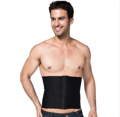 Hot Fashion Male Men Slimming Waist Trimmer Belt Body Shaper Lose Weight Belt Beer Belly Waist Shaper L / XL / XXL/XXXL