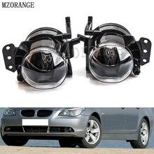 MZORANGE 1 пара противотуманных фар сборки автомобиля Передние Противотуманные фары лампы без лампы Корпус объектив ясно для BMW E60 E90 E63 E46 323i 325i 525i