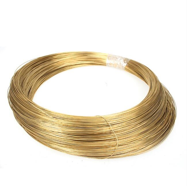 High Quality H62  0.3MM X 5M  Brand New Brass Wire Rod Copper Round Wire Line Free Shipping