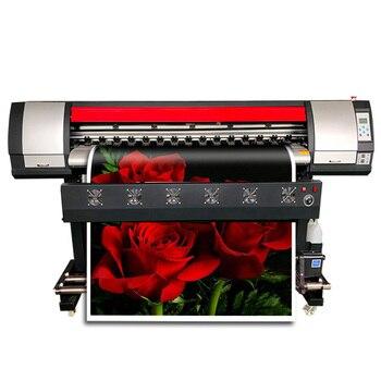 Широкоформатный Печатный плоттер, хорошая дешевая автомобильная пленка, рекламный щит, печатная машина 1,6 м широкоформатный принтер Xp600 пло...