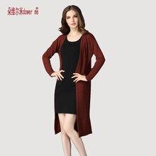 Dower meวางสินค้าคาร์ดิแกนผู้หญิงเสื้อกันหนาวสบายๆโครเชต์เสื้อปอนโชขนาดบวกเสื้อผู้หญิงยาวเสื้อvestidos Cardigans
