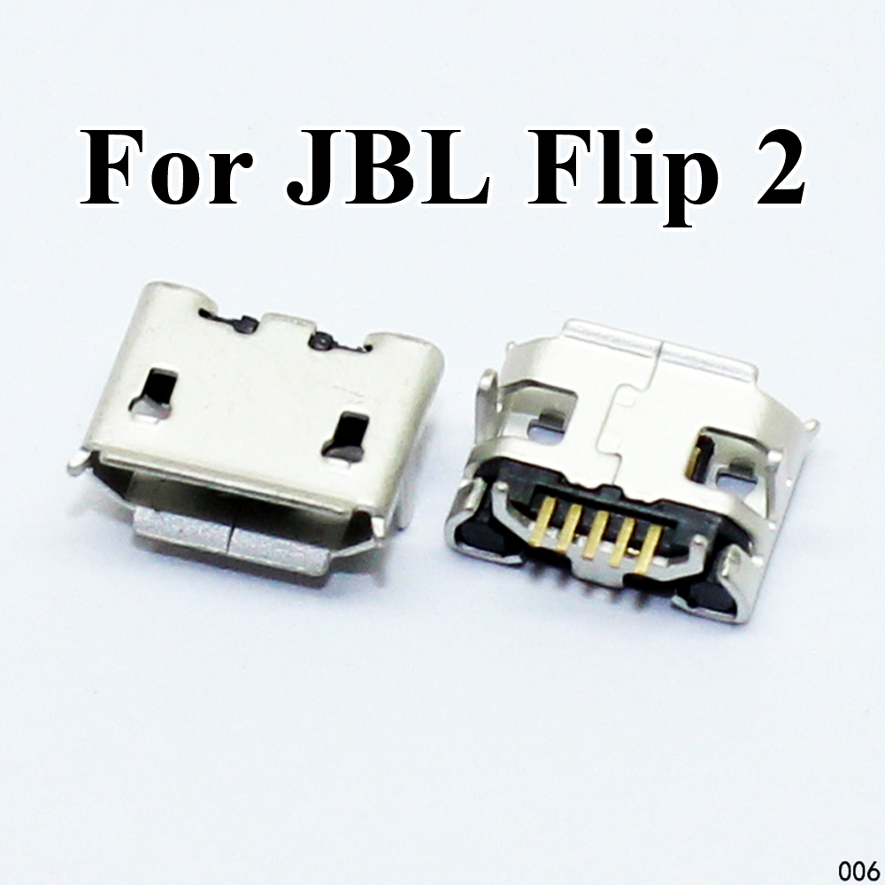 <font><b>2</b></font>-10pcs For <font><b>JBL</b></font> Flip <font><b>2</b></font> Bluetooth <font><b>Speaker</b></font> Mini Micro USB connector jack <font><b>Charging</b></font> Port Charger socket plug dock female 5pin repair image