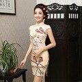 New Summer Fashion Women Chinese Dress Women Cheongsam Chinese Style Dress Vestidos Female Evening Wedding Party Dresses 18