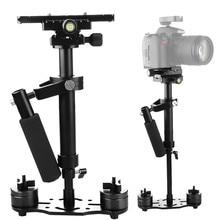 Estabilizador Steadycam de mano de aleación de aluminio S40 + 0,4 M 40CM para Steadicam para Canon Nikon AEE cámara de vídeo DSLR