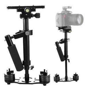 Image 1 - S40 + 0.4M 40 Cm Hợp Kim Nhôm Cầm Tay Tay Cầm Steadycam Stabilizer Cho Steadicam Cho Canon Nikon AEE DSLR Video