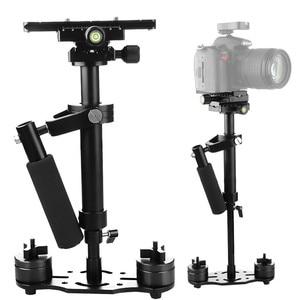 Image 1 - S40+ 0.4M 40CM Aluminum Alloy Handheld Steadycam Stabilizer for Steadicam for Canon Nikon AEE DSLR Video Camera
