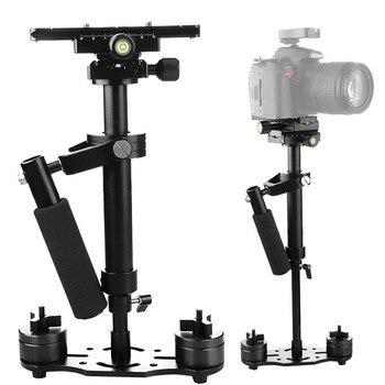 цена на S40+ 0.4M 40CM Aluminum Alloy Handheld Steadycam Stabilizer for Steadicam for Canon Nikon AEE DSLR Video Camera