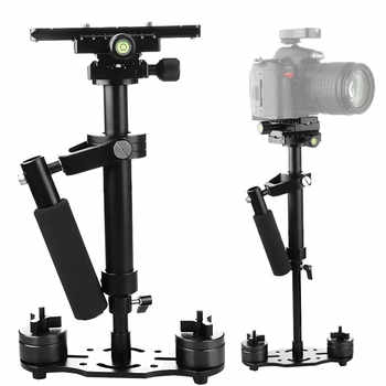 S40+ 0.4M 40CM Aluminum Alloy Handheld Steadycam Stabilizer for Steadicam for Canon Nikon AEE DSLR Video Camera - DISCOUNT ITEM  28% OFF All Category