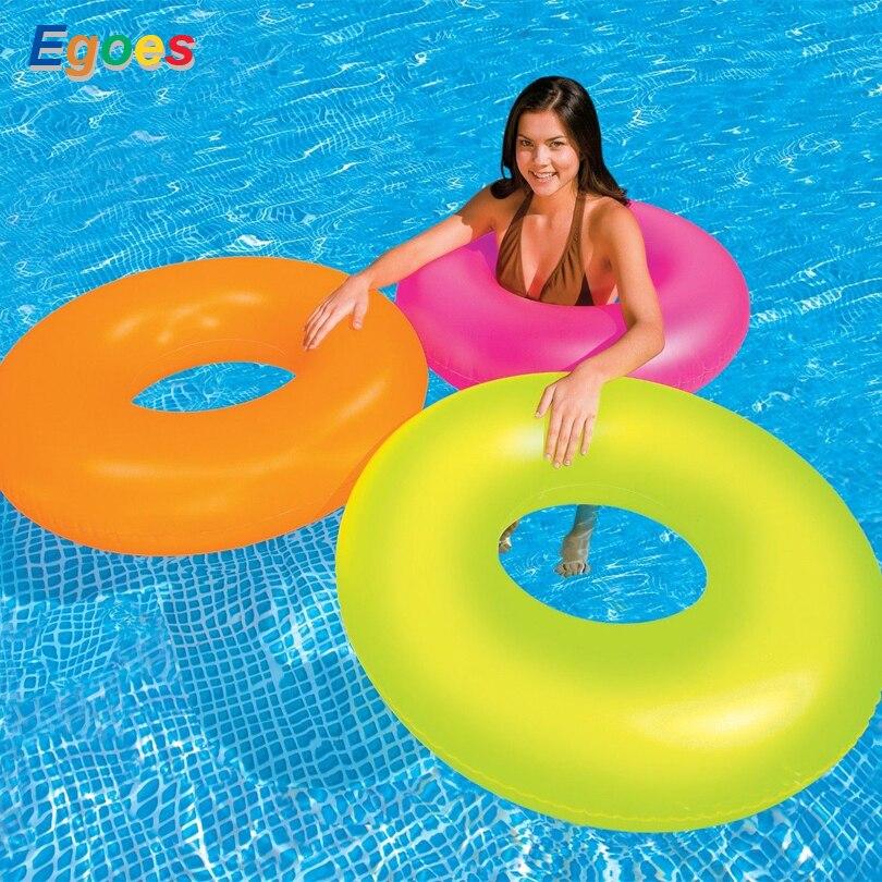 Egos Neon Gel Tube Gonflable Piscine Flotteur Raft Anneau 59262