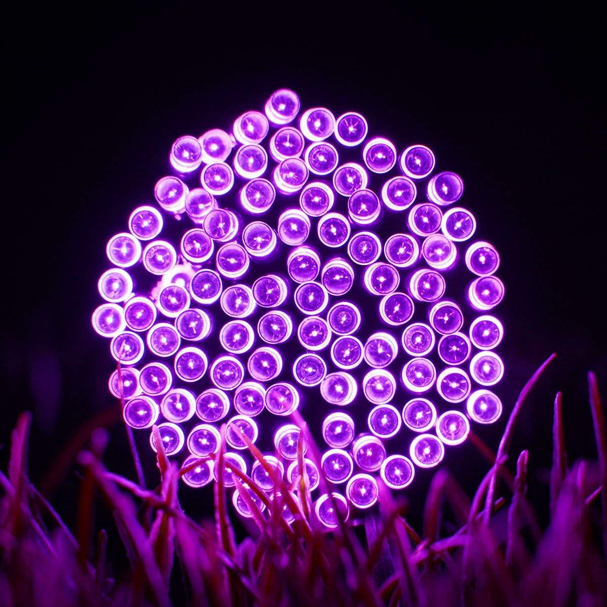 50/100/200 LEDs Solar Strip String Fairy Light Outdoor Garland LED Solar Lights For Garden Decoration Festive Lamps With Battery