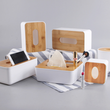 XING KILO  Simple and modern creative living room tissue box pumping car with a paper storage towel rack