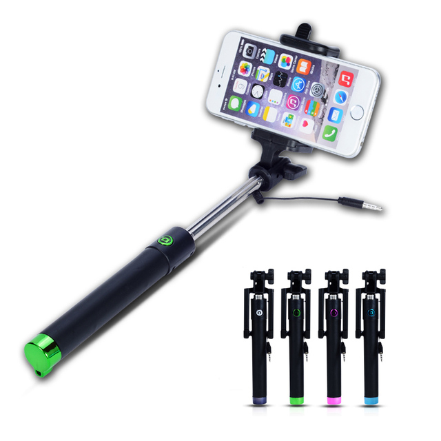 [Battery Free] Selfie Stick Monopod For Huawei Nova 2 Honor 10 V9 Mate 10 9 5A Y7 Y5 II Y3 5S 5X G8 G9 P10 P9 2017 Sel Photo