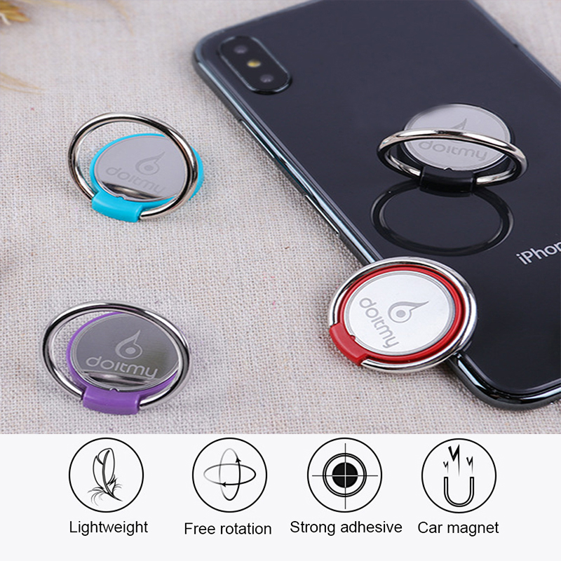 Finger Ring Mobile Phone Smartphone Stand Holder For IPhone X 8 7 6 6S Plus Smart Phone Tablet MP3 Car Mount Stand For Samsung