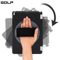 GOLP 360 Rotating Shell Case For IPad Pro 10 5 Smart Magnet Handheld 360 Degree Rotating