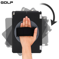 GOLP 360 Rotating Shell Case For IPad Pro 10 5 Smart Magnet Handheld 360 Degree Rotating