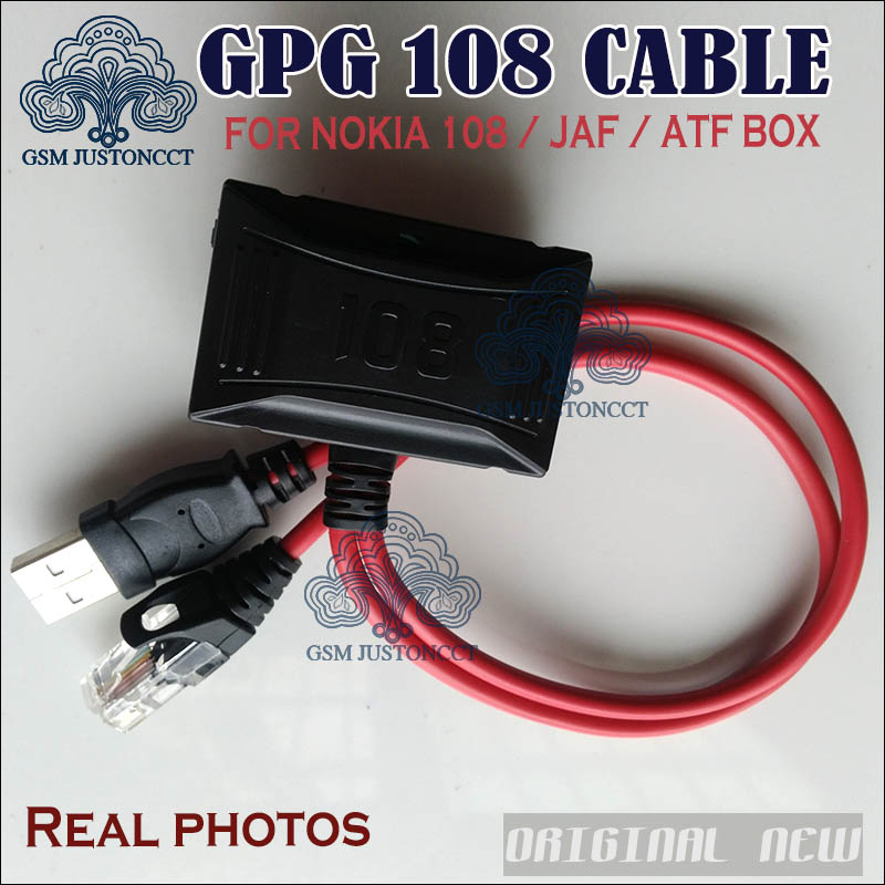 Free Shipping Combo Cable For Nokia 108 For Jaf / Ufs / Atf Box For Nokia Phone Unlock&flash&repair