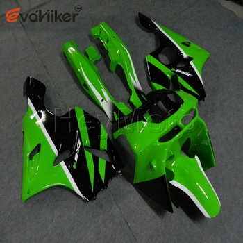 ABS Plastic fairing for ZX-6R 1994-1997 ZX6R 1994 1995 1996 1997+Bolts+Painted green