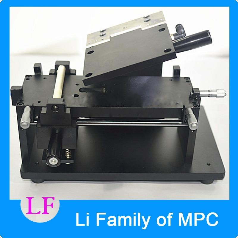 Mini Manual with Mould OCA Film Laminating Machine Polarizing Film Protective Film Laminator new built in vacuum oca film laminating machine polarizer for lcd film oca laminator 110v or 220v