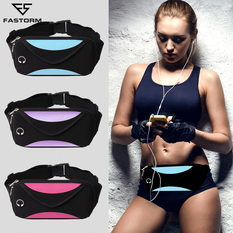 Relojes Y Joyas Beautiful Outdoor Running Bag For Phone Waterproof Waist Belt Sport Pack Cycling Bag Gym Travel With Hidden Pouch Sport Accessories Fine Craftsmanship