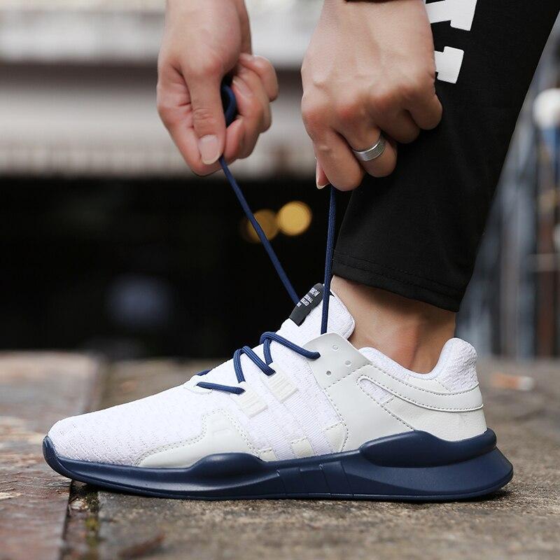 2018 легкие кроссовки спортивная обувь дышащие мягкие марафон кроссовки комфорт Фитнес Four seasons модели Для мужчин Спортивная обувь