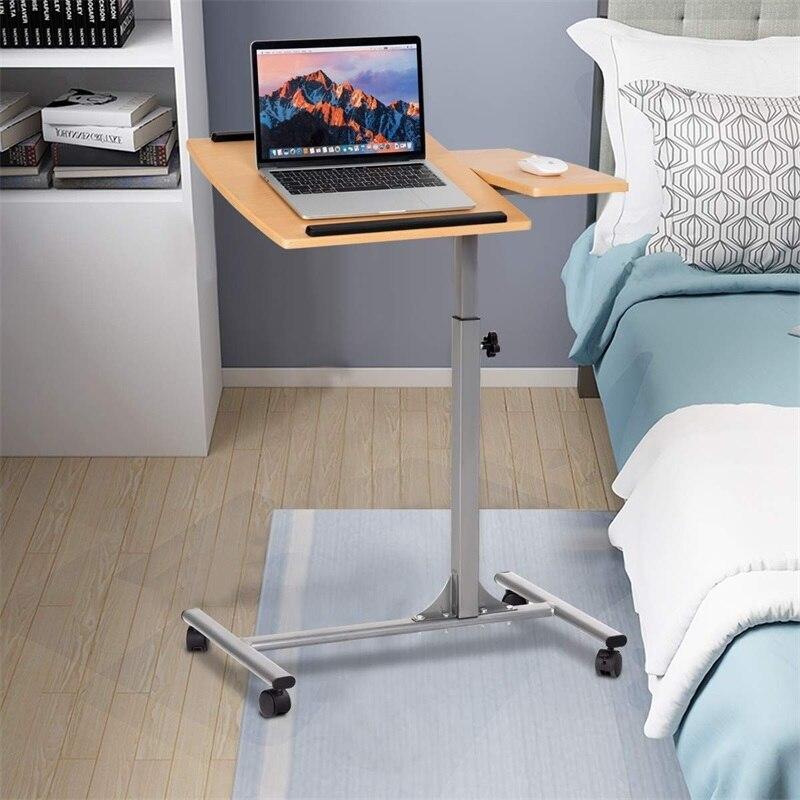 Adjustable Laptop Desk With Stand Holder And Wheels Office Furniture Computer Desks HW58798