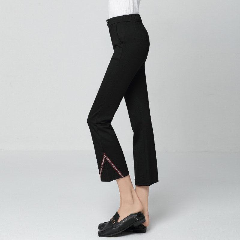 Chándal 5xl Tamaño De Boho Mujer Pierna Maxi L Más Mujeres Capris Pantalones Palazzo Negro 2018 Flare Falda Ancha qxt1pX6xw