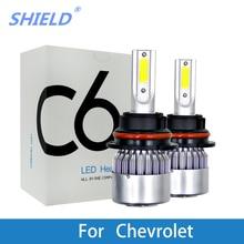 цена на 2Pcs LED Car Headlamp 12V LED 6000K White LED H4 H7 H11 9005 Auto Light Bulb For Chevrolet Cruze Orlando Captiva Epica Lacetti
