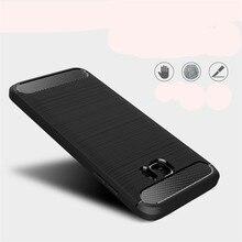 50 шт./лот для samsung Galaxy Note7 чехол Защитный чехол для задней панели из углеволокна и мягком переплете Note8 для Note 8, 7, 9, Note fe/Note вентилятор Edition(L1225