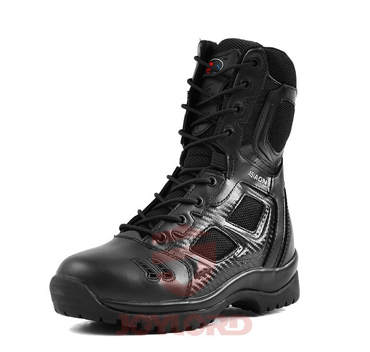 Germans ASIAON Military Tactical Boots Desert Combat Outdoor Army Hiking Travel Botas Shoes Leather Autumn Ankle Men Boots yin qi shi man winter outdoor shoes hiking camping trip high top hiking boots cow leather durable female plush warm outdoor boot