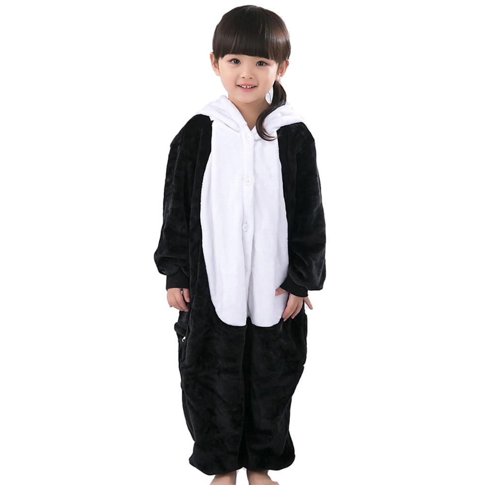 2016 Winter Children Pajamas Chinese panda baby boys clothes Autumn Children nightgown pyjamas kids animal pijamas
