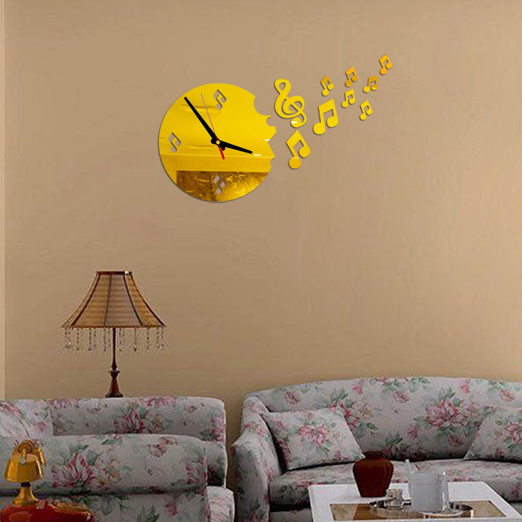 Hot Hot Mirror Wall Stickers 3d Acrylic Europe Sticker Decoration Poster Kitchen Butterfly Horse Large Wall