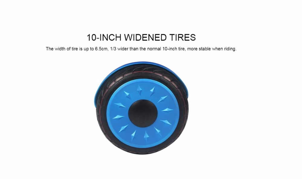 Bluetooth Hoverboards 10″ Megawheels TW04 Self Balance Electric Scooter DE Warehouse DHL Free Shipping Free Tax Bag (Blue)