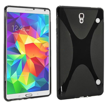 """De alta Calidad para Samsung Galaxy Tab S 8.4 """"T700 T705C Caso Suave de X de Tpu funda de silicona para Galaxy Tab S T700 Cubierta"""