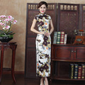 Classic Chinese Qipao Elegant Women Sexy Slim Long Cheongsam Vintage Style Lace Traditional Oriental Wedding Qipao