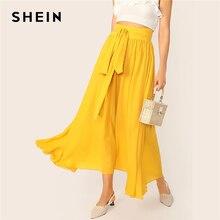 Basic Tie Yellow Summer
