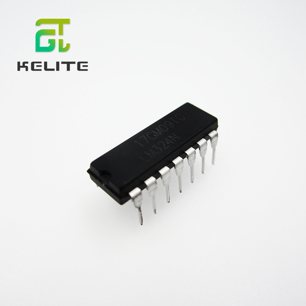 100PCS LM324N DIP-14 324 LM324 Amplifier LM324P