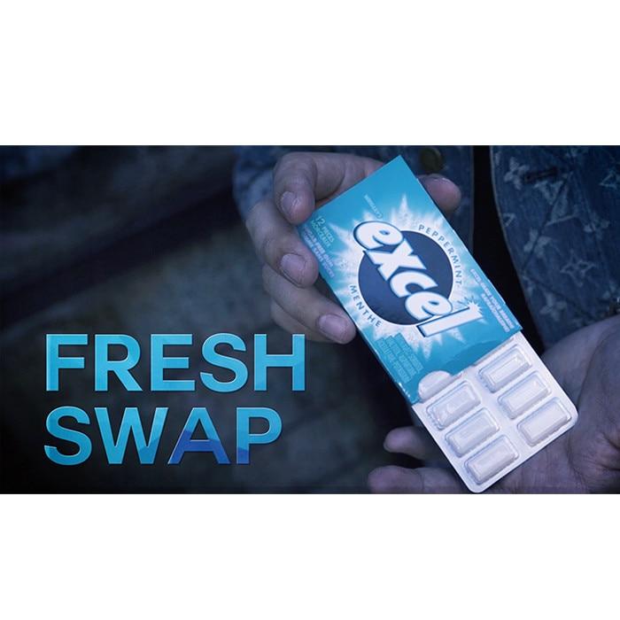 Fresh Swap (DVD and Gimmicks) by SansMinds Creative Lab Street Magic Tricks Close up Magic Fun Illusions Bar Trick