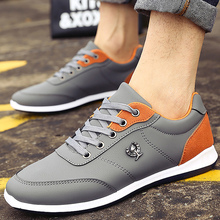 sneakers for men lether shoes size 39-44 2018 fashion Men's Vulcanize Shoes mixed colors mens shoes casual sapato masculino