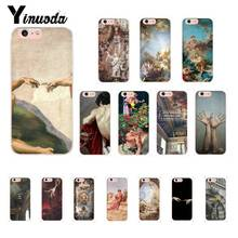 Yinuoda palace of versailles The Creation of Adam Art Phone Case for iPhone8 7 6 6S Plus X XSMAX 5 5S SE XR 10 11 11pro 11promax yinuoda the vampire diaries ian somerhalder luxury phonecase for iphone8 7 6 6s 6plus x xs max 5 5s se xr 10 11 11pro 11promax