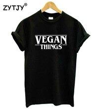 VEGAN THINGS women's shirt / girlie