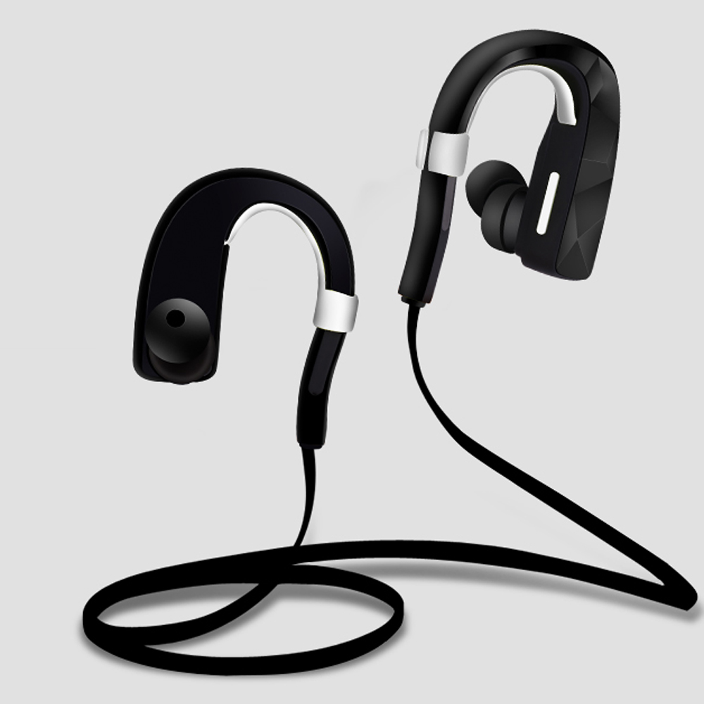 2017 Bluetooth In-Ear Earphone Sport Wireless HIFI Music Stereo CSR Universal Headset For iPhone 6 7 Samsung S6 S7 Xiaomi HTC LG  wireless music bluetooth headset 4 mini head wear sport ear hanging ear type 4 1 universal running stereo can insert card radio